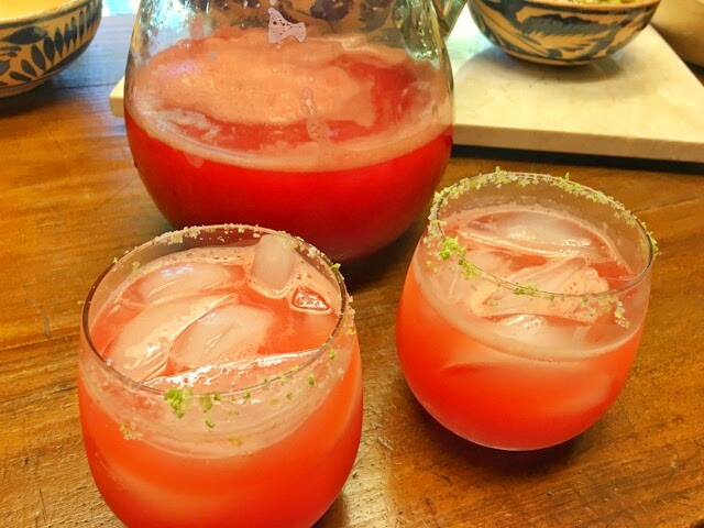 Watermelon Jalapeno Skinny Margarita Recipe!
