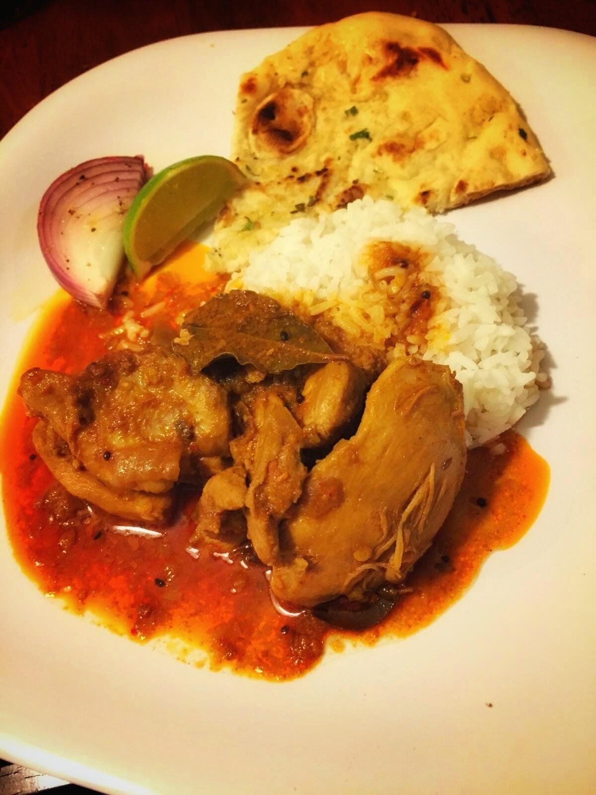 ankitha-gadag-achari-chicken-curry-meal