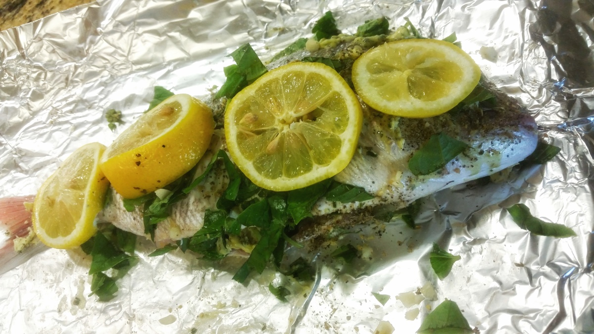 Ankitha Gadag's Baked Whole Snapper Recipe!